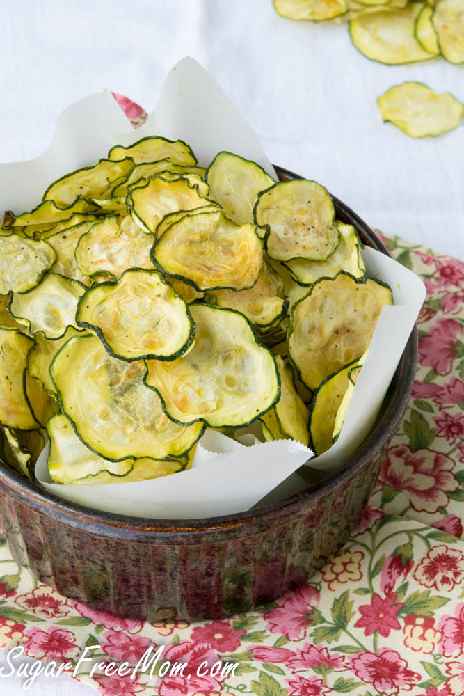 Salt & Vinegar Zucchini Chips
