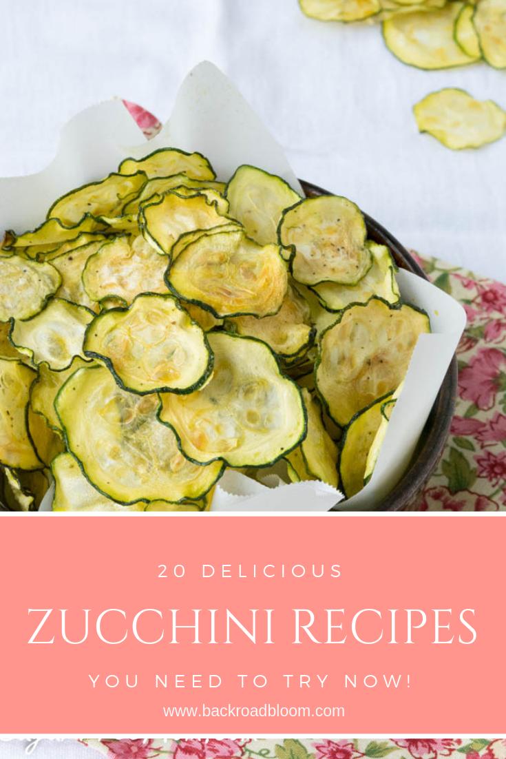 zucchini recipes round up