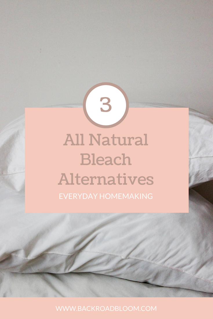 All Natural Alternatives to Bleach for your Laundry Routine