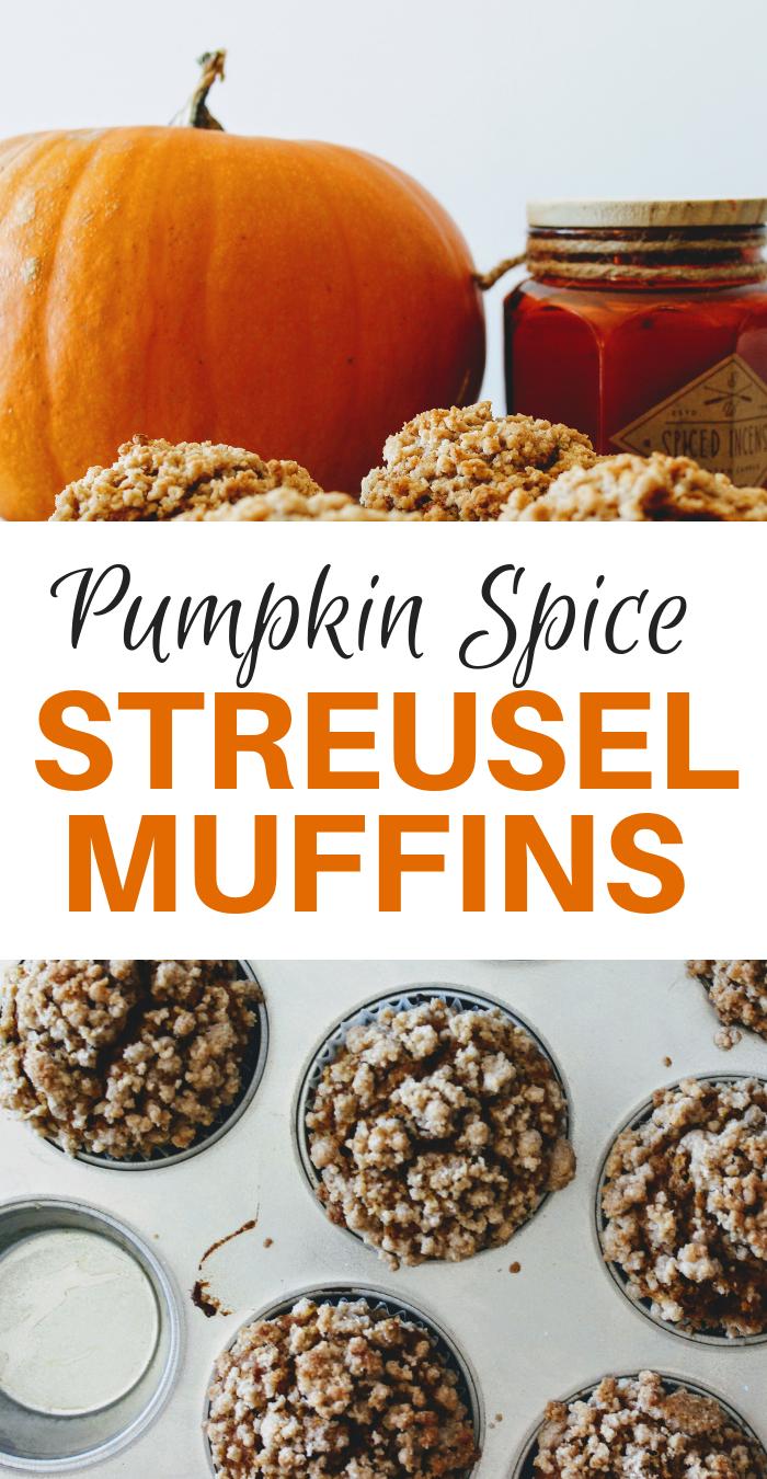 Pumpkin Spice Streusel Muffins, Fall Desserts.png