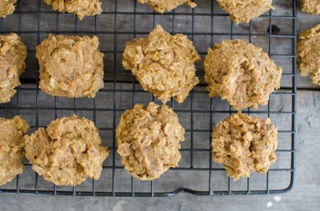 Whole Grain Pumpkin Oatmeal Cookies via Reformation Acres