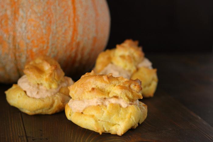 Pumpkin Cream Puffs via The Prairie Homestead
