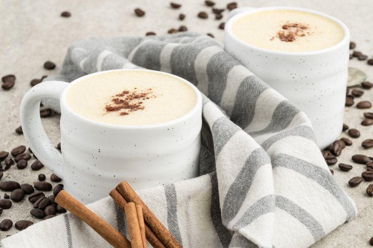 Pumpkin Spice Latte Recipe via Dr. Axe