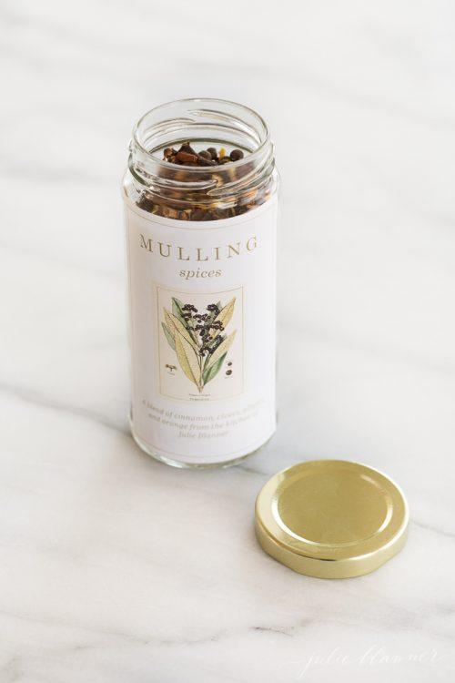 Mulling Spices via Julie Blanner