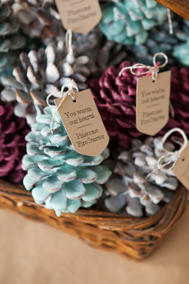 Pine Cone Fire Starters via Something Turquoise