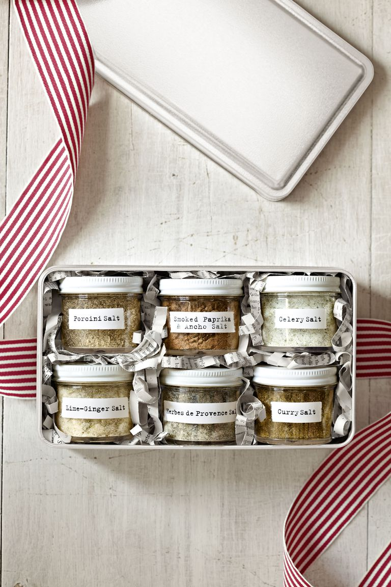 Flavored Salts via Country Living