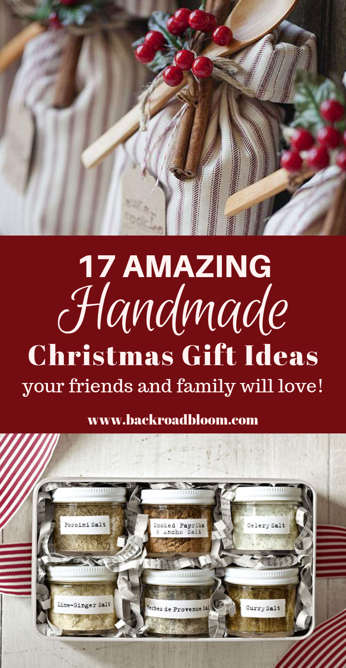 17 Amazing Handmade Christmas Gift Ideas Your Friends and Family ...