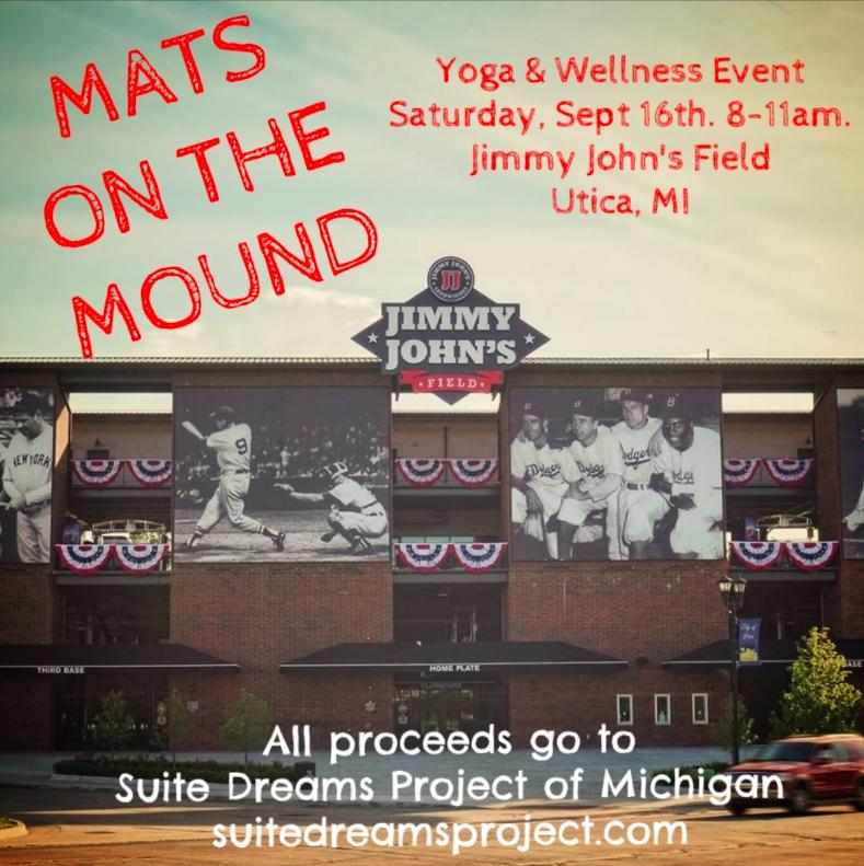 JimmyJohnsFieldMatsOnTheMoundSuiteDreamsProjectRaiseTheVibeYoga