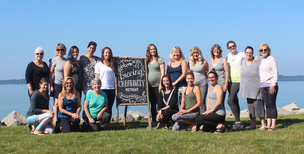 Freeing Creativity Retreat. Elk Rapids, MI. September 22-24, 2017.