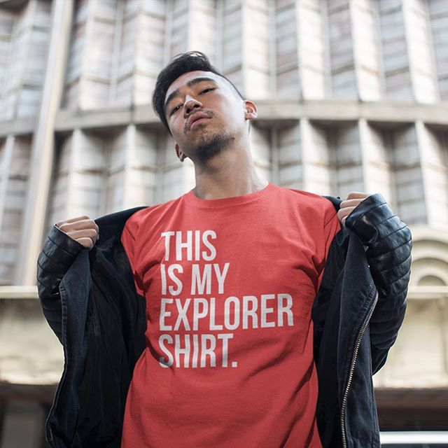 *Literally* the only shirt you'll ever want to travel in! Click the link in our bio to get yourself one of these bad boys.⠀ ⠀ .⠀ Tag your travel photos with #TakeOffSetSail to get featured!⠀ .⠀ #WanderCurious #itsteeshirttime #wordnerd #shopinstagram #fashionofinstagram #travelmore #myfavoritetee #coolmerch #newthreads #exploretheworld #travelbugs #travelblog #travelphotography #travelblogger #bloglife⠀
