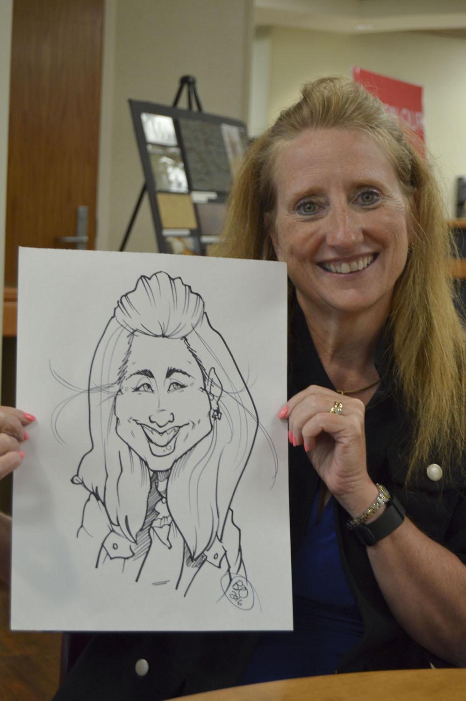 cincinnati hire a party caricature artist p s party sketchers
