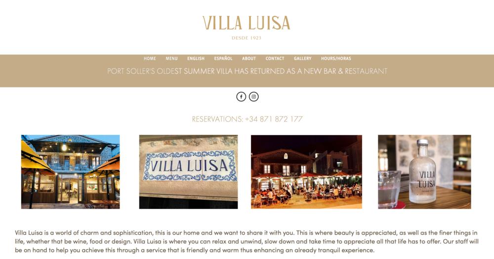 Restaurant Villa Luisa - Port Soller