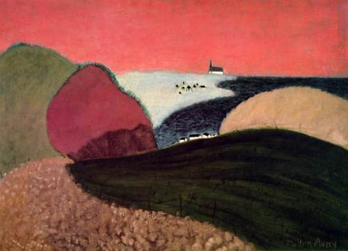 Milton Avery - Gaspe Pink Sky