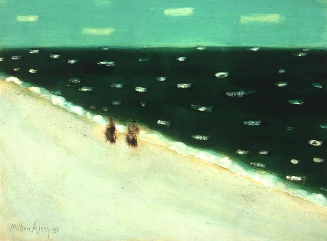 Milton Avery - Green Sea, 1958