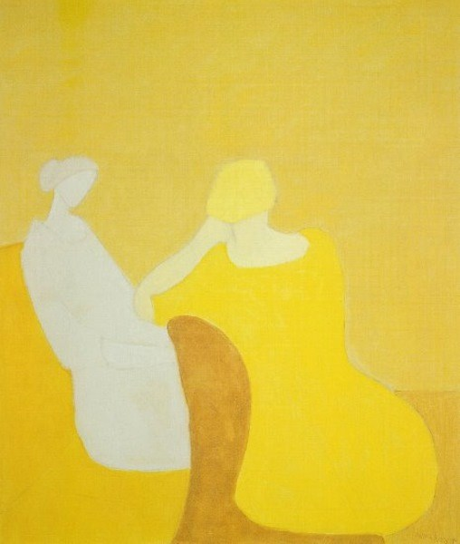 Milton Avery -  Interlude, 1960