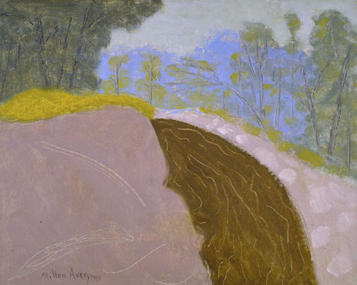 Milton Avery - Spring Brook, 1955