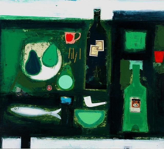 Simon Laurie, Arrangement in Green