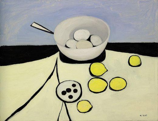 mapart.me:   William Scott - Bowl, Eggs and Lemons