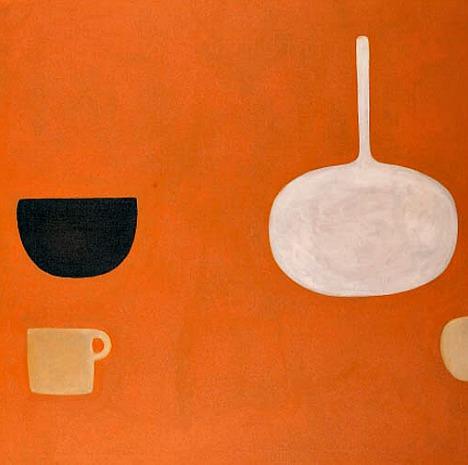 mapart.me:   William Scott - Orange Still Life