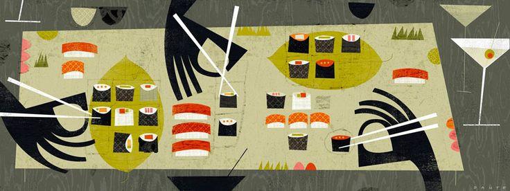 Dante Terzigni - Sushi