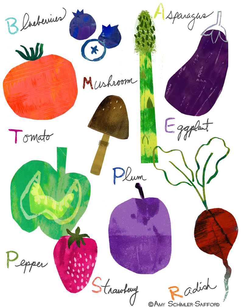 Amy Schimler-Safford - Fruits and Veggies