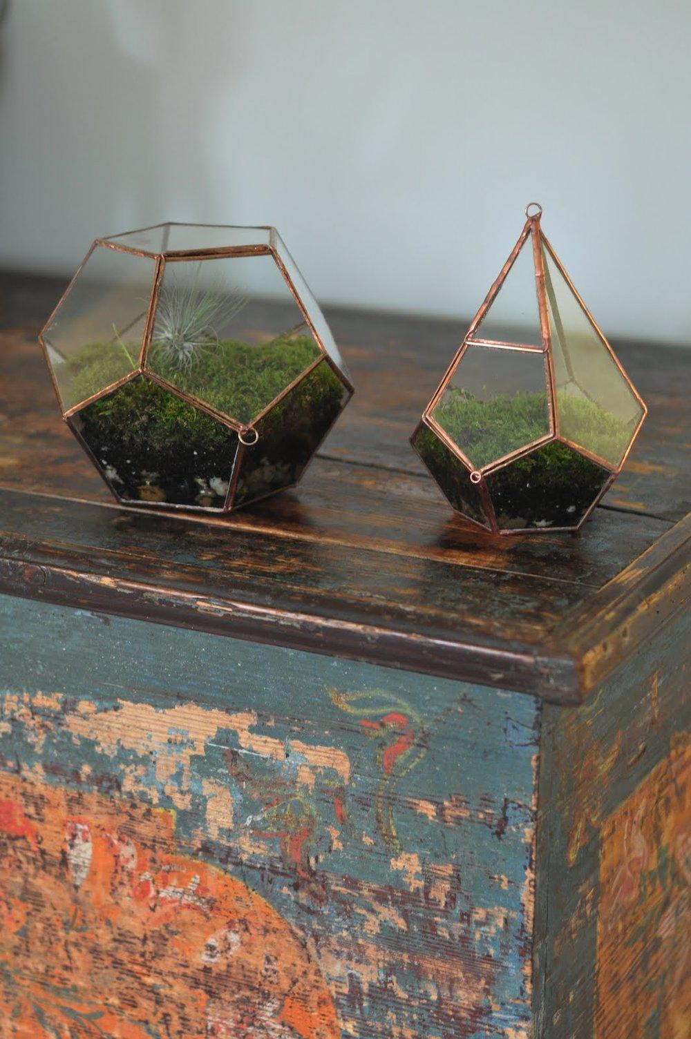 mapart.me:   ABJ glassworks - moss terrariums
