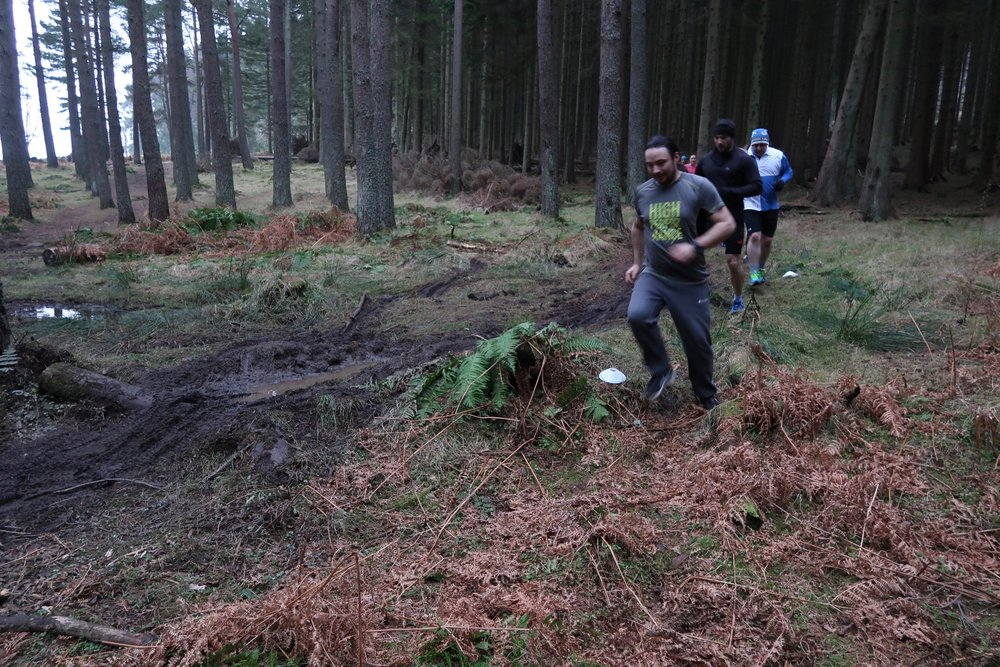 The had been battered by recent weather but the Tribe found a great route around the worst parts!