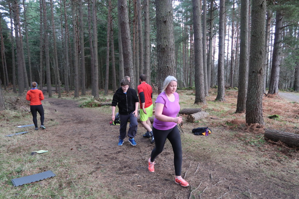 Great work during the circuit from Tanya and Scott who joined us for their first session today!