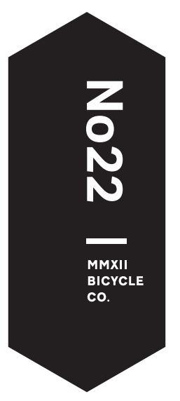 No. 22 Bicycle Company Inc. - Contemporary performance. Artisan precision.