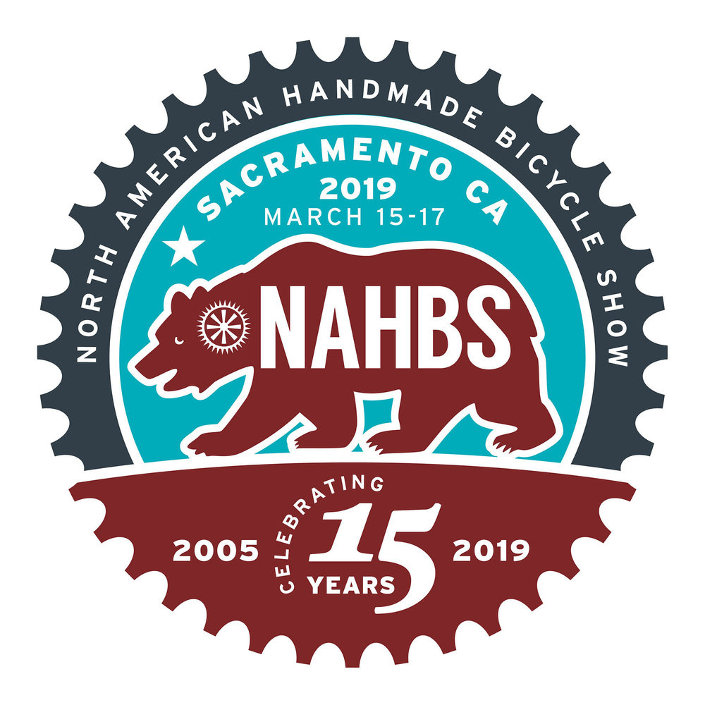 NAHBS Returns to Sacramento - The North American Handmade Bicycle Show will return to Sacramento, California March 15th-17th 2019
