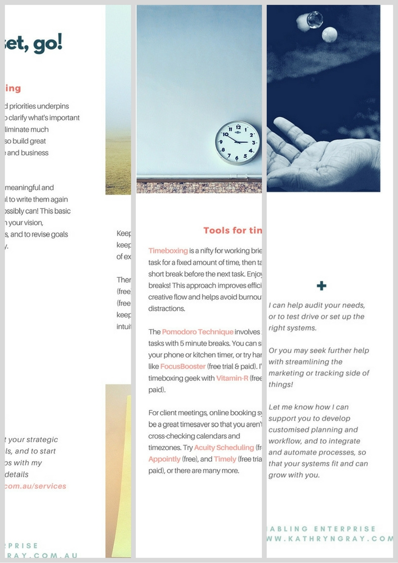 Toolkit pages