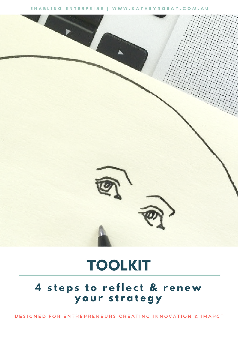 Grab your FREE Reflect & Renew Toolkit! - Designed to support you to renew your strategy for success...