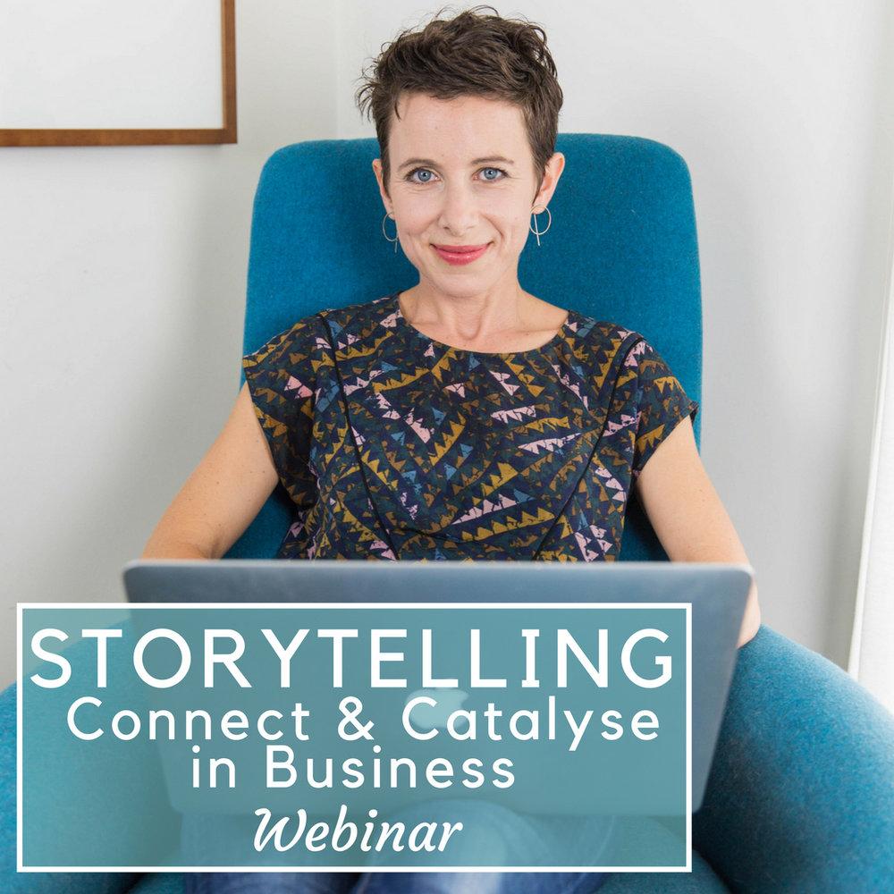 Storytelling Webinar