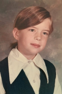 1971: Start first grade. Am a competitive reader.