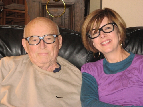 2011:  My dad -- my rock -- in his final year.