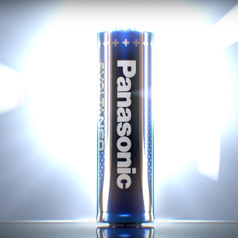 Panasonic - Panasonic used some of our Kjerag clips in a commercial for a new battery type.
