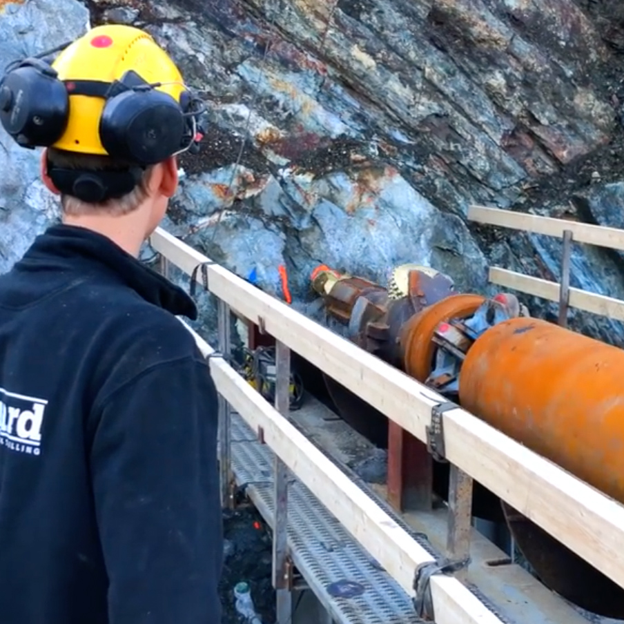 Norhard AS - Documentation video for a new tunnel for Norhard AS