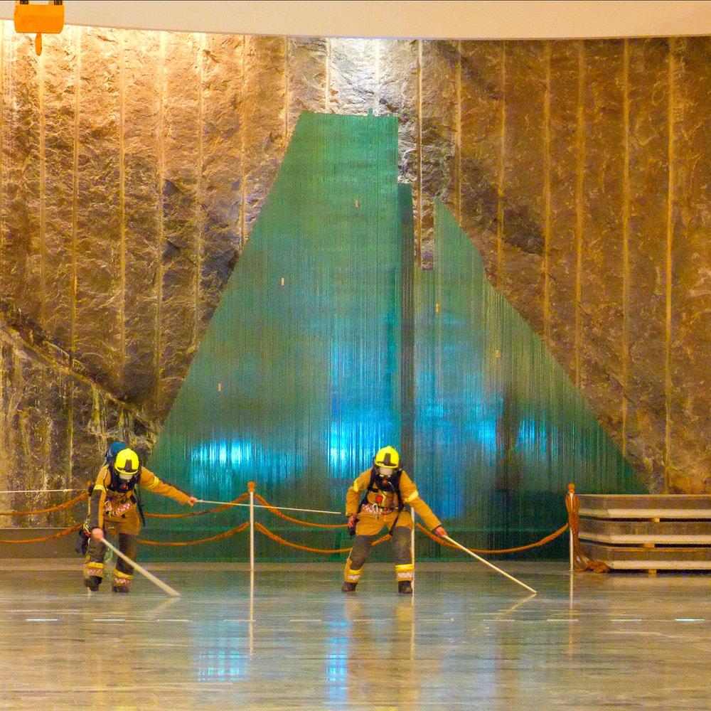 Sira-Kvina Kraftselskap - We filmed a fire test for Sira-Kvina