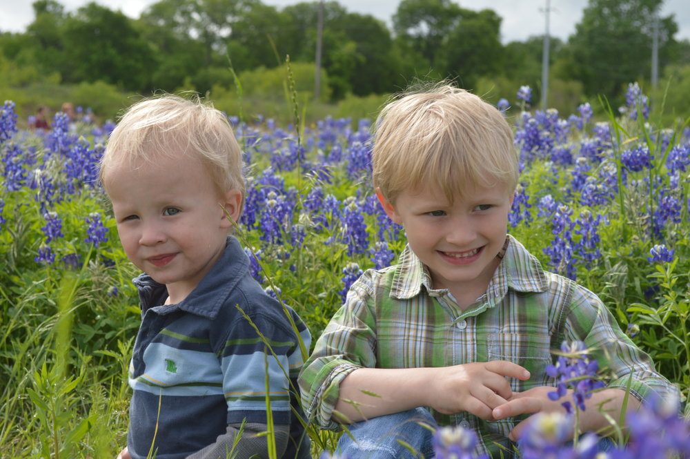 Hanna's adorable sons, Connor and Warren.