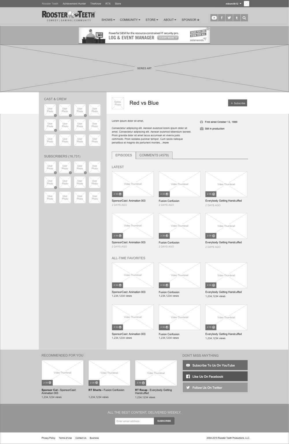 Nailing Down Layout in Wireframes