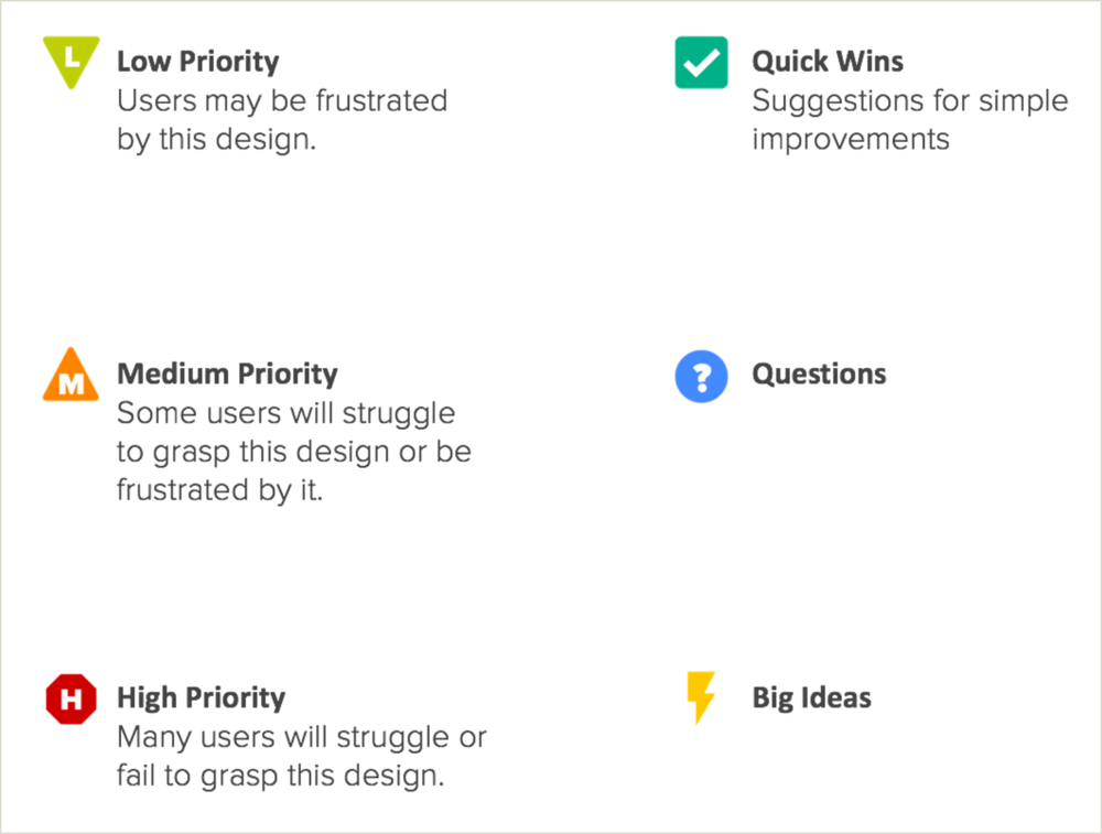 Expert Analysis - Stress-test your user experience for business-limiting gaps and potent opportunities. To identify quick wins, we apply intuition gained through hundreds of design projects, plus use cases and market analysis — both of competitors and comparable products in other markets.