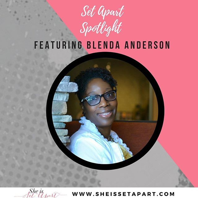 "Happy Sunday ladies! • Welcome to another installment of : Set Apart SPOTLIGHT featuring: Blenda Anderson — @blencouragesu • Blen, a New England native, is a kale and cake junkie, tea enthusiast, enjoys a good conversation, and spending time with family and friends. You can catch on her on the daily on Facebook, Twitter and Instagram, weekly her Periscope bible study and on her blog/podcast, where she teaches and covers various biblical and practical life topics. • You can read the full post on the blog at sheissetapart.com Here's an excerpt 👇 • ""I was raised in an wonderful Christian home with two parents who taught my brothers and I through example not only how important it was to have Jesus down on the inside (according to Acts 2:38), but also, how to live, love and take care of a family the correct way. Since I had the blueprint of marriage down, it was just a matter of time and the right guy to come along, right? Right? Umm… not quite. • While I had the blueprint and was eventually Spirit-filled at the age of 24, outside of the few-and-far in between good guys, I was at a loss for why so many ""undesirables"" popped up so often. I mean I ate right, exercised and got enough rest, so what was the deal? • It took a LONG time to accept God's diagnosis. • My heart was messed up and I was broken.  Broken people attract broken people..."" (continued on the blog at sheissetapart.com) . . . . #sheissetapart"