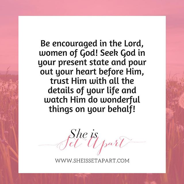 Wonderful words of encouragement from this week's blog post featuring @blencouragesu — have you checked it out yet? . . . #sheissetapart