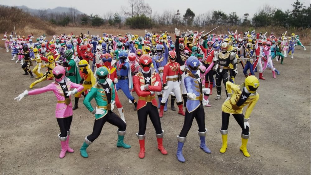 The Power of Friendship! Super Sentai and the Japanese