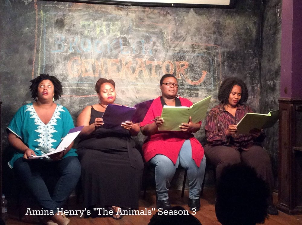 "Stacey Rose's ""AS IS: Conversations with Big Black Women in Confined Spaces"" during Season 4.of The Brooklyn Generator"