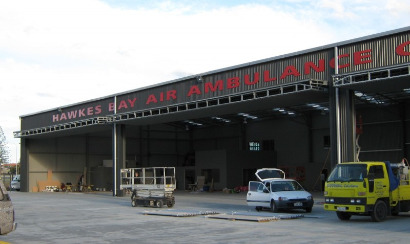 Air Ambulance Facility, Napier