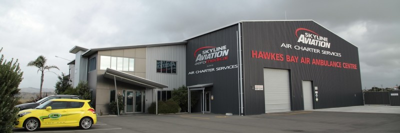 Skyline Aviation, Air Ambulance Facility, Napier