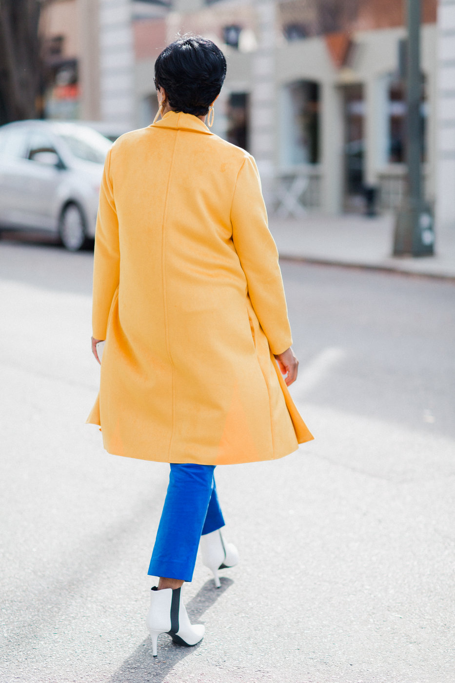 yellow faux suede zara coat.jpg