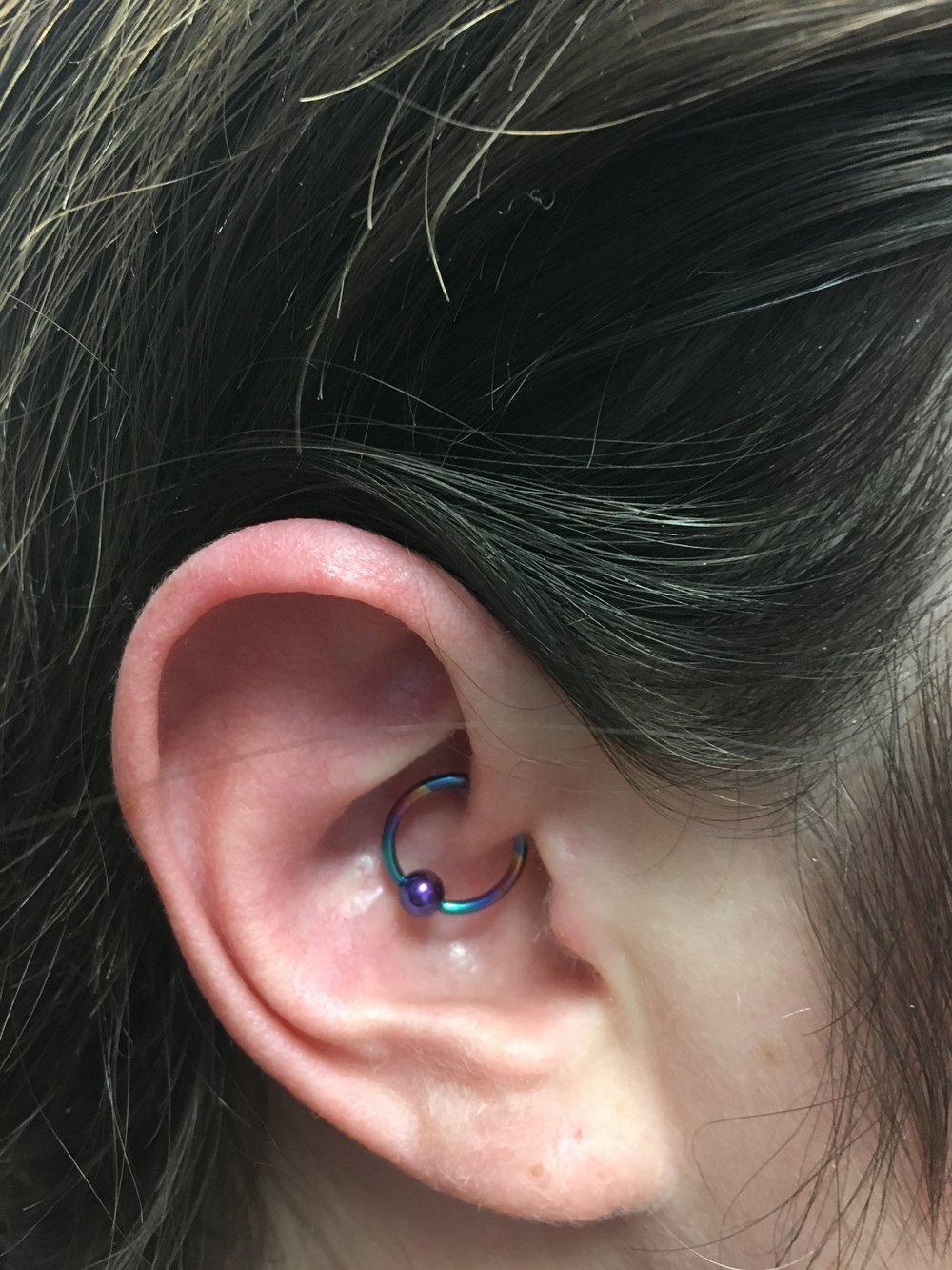 Piercings by Kristen: Daith
