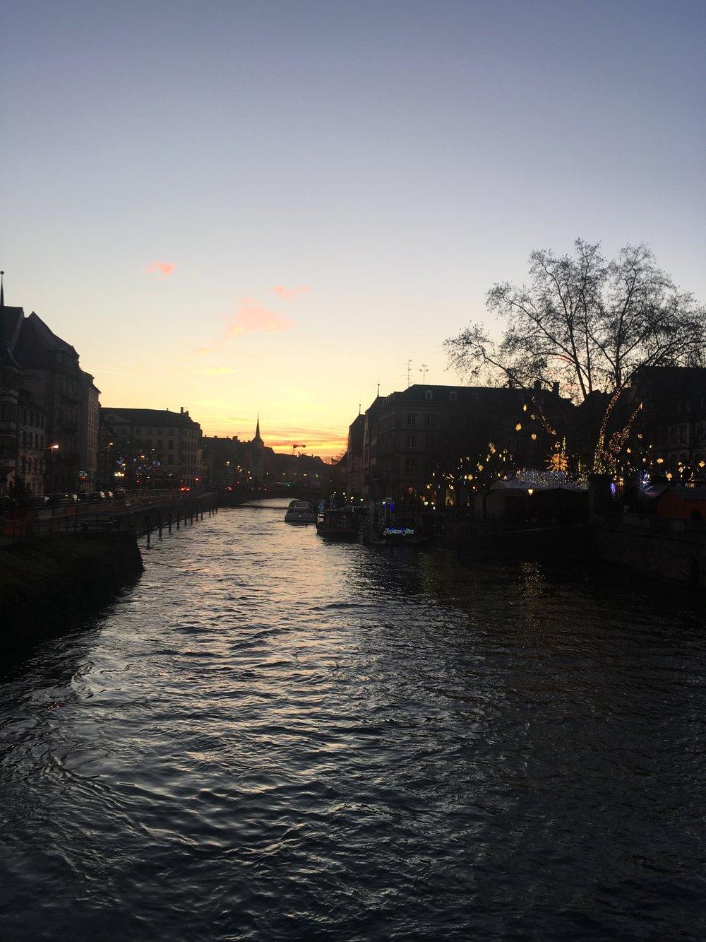 Sunset, Strasbourg